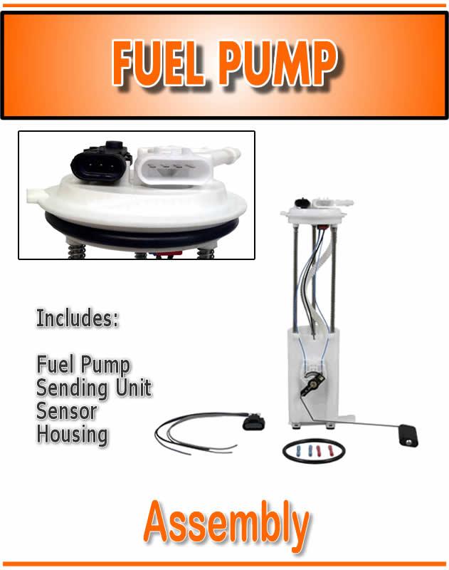 97 98 Chevy GMC PU Pickup Truck Fuel Gas Tank Pump Sending Unit Module