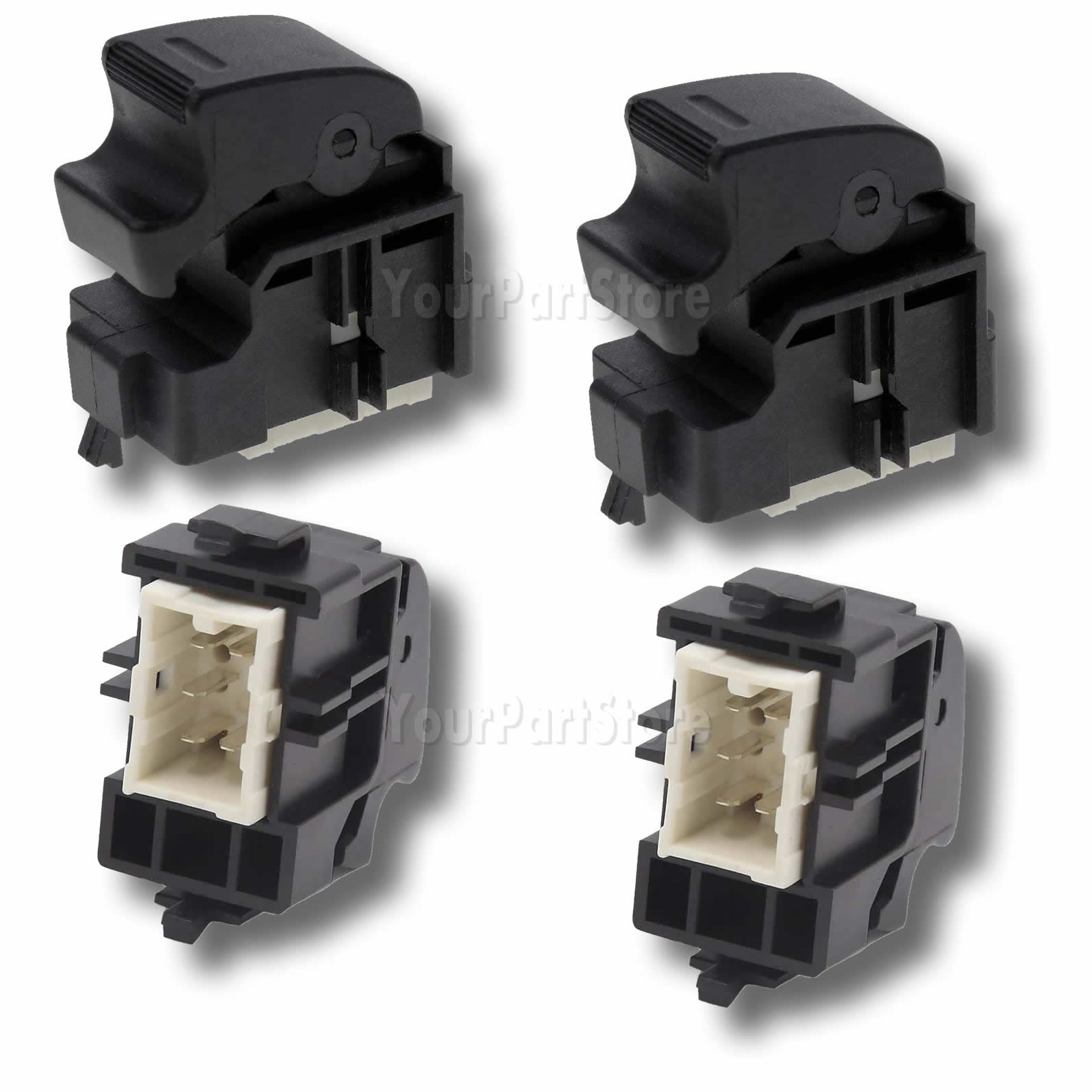 Power Window Control Door Switch Button SET For TOYOTA