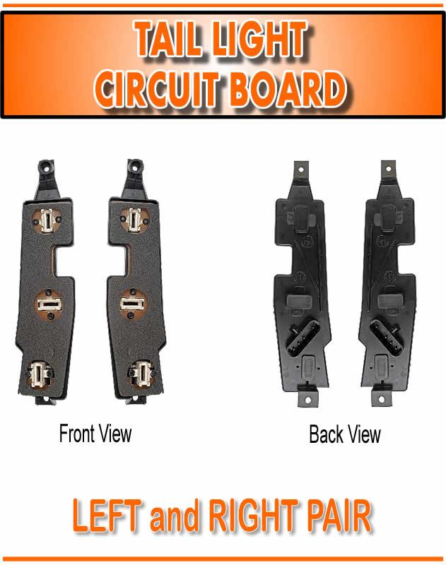 88 98 Chevy Gmc Pu Pickup Truck Tail Light Lamp Circuit