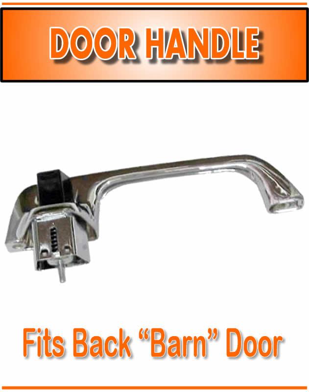 Rear Barn Door Outer Outside Exterior Handle for 78-91 Suburban