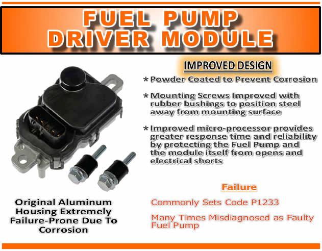 Lincoln Fuel Pump Driver Module